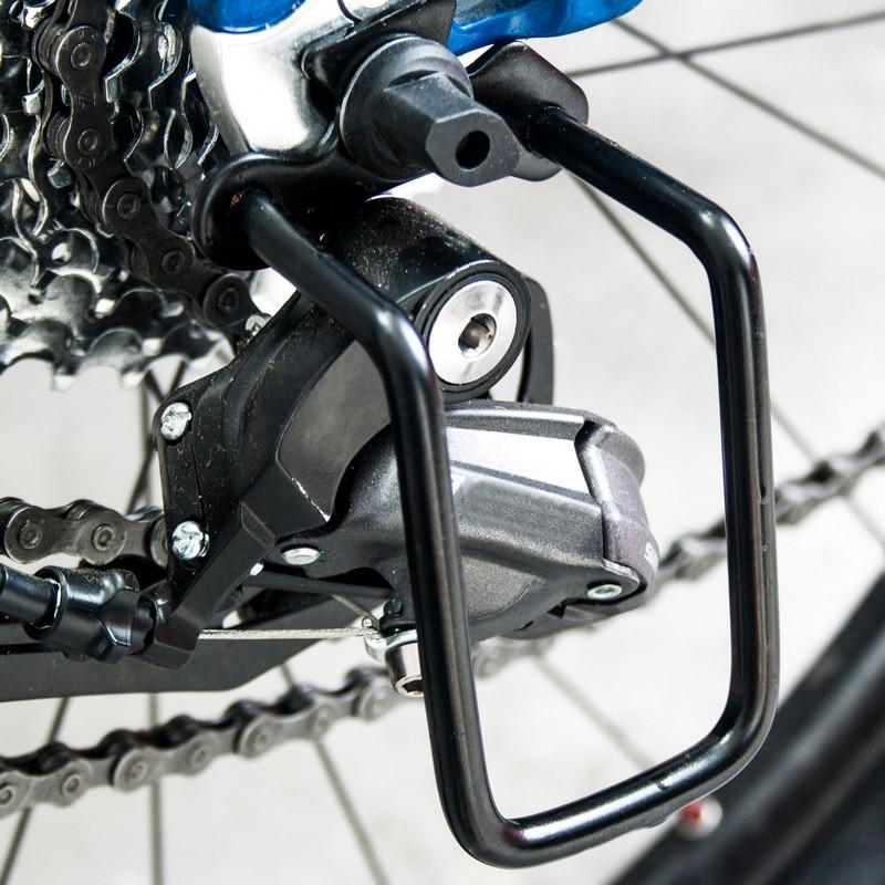 Metal Bicycle Derailleur Protector MTB Mountain Bike Road Bike Gear Rear Derailleur Chain Protector Bike Accessory New