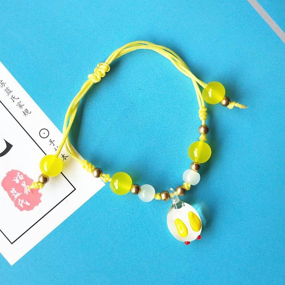 Mo Dao Zu Shi Handmade Beads Bracelet Jewelry Accessories Chen Qing Ling Bracelet Wei Wuxian Gold Beads Bracelets DIY Toys