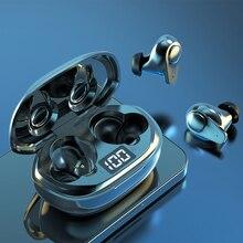Tws Bluetoothワイヤレスゲーミングヘッドセット,LEDディスプレイ,防水,ノイズ抑制,マイク付きゲーム機