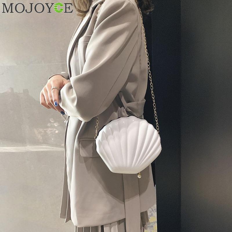 New Fashion Brand Crossbody Bag Design Sweet Shell Chain Shoulder Bag Clutch Bag Girl's Messenger Bag Handbag