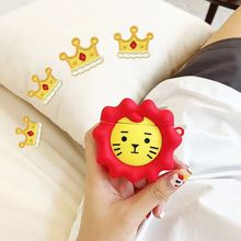 Cute Lion Protective Case Soft Silicone Cover Skin Protector for Airpods 1/2 3XUE стоимость