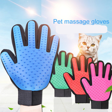 Pet Toys Soft Silicone Dog Brush Glove Grooming Cat Bath Cleaning Supplies Combs Toy