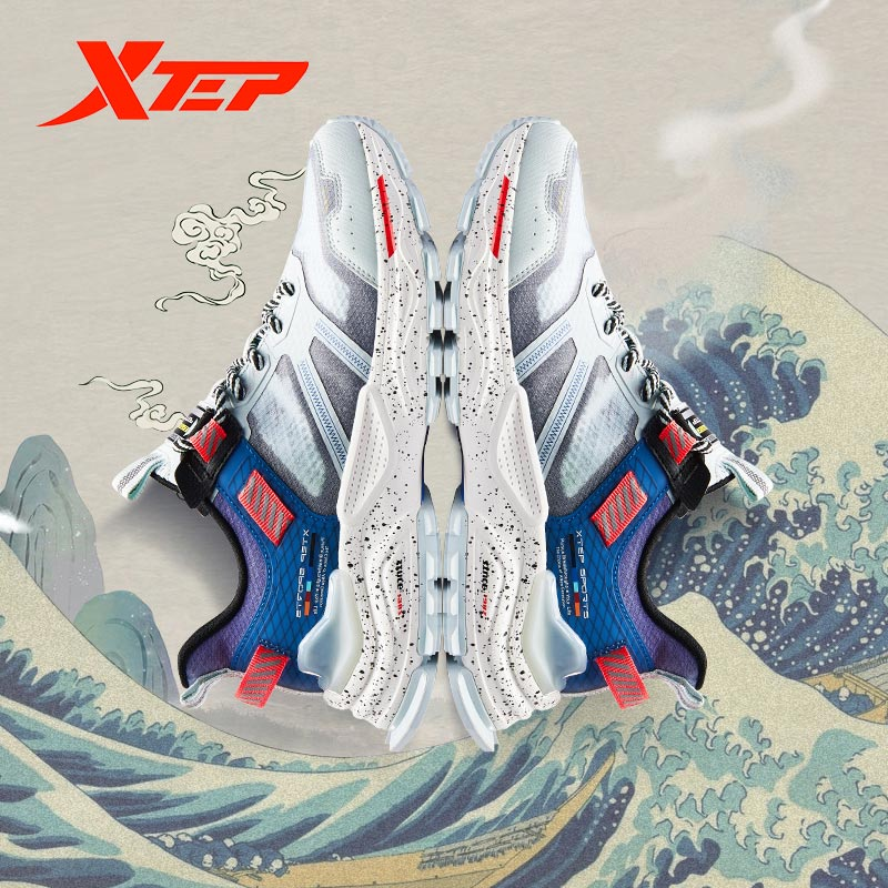 Xtep [Chinoiserie] Men Casual Sneakers Men Casual Shoes Old Daddy Shoes 880219320072