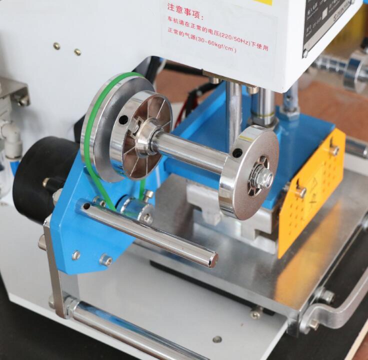 Leder Heißer Stanzen Maschine Pneumatische Logo Druck Maschine Visitenkarte Bronzing Maschine