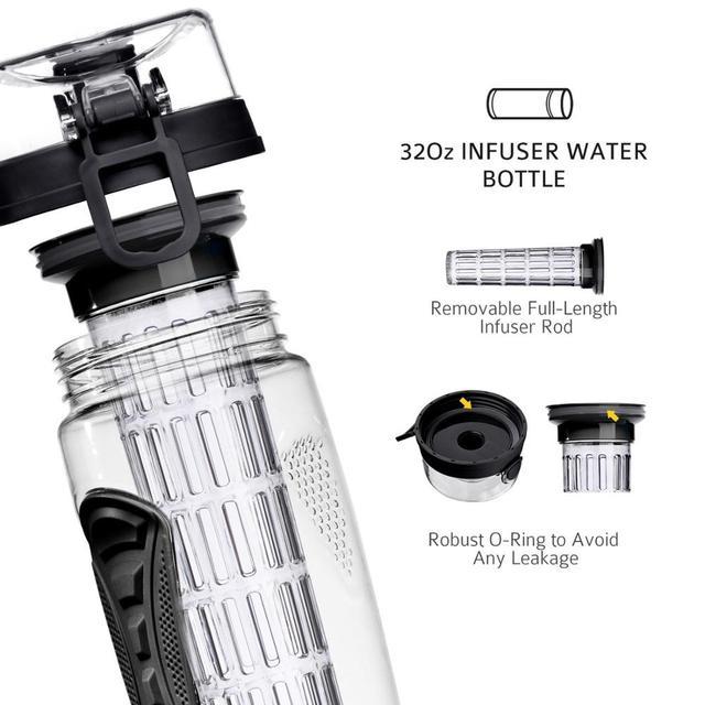 b4f Sports Fruit Water Bottle Juice Shaker for You BPA Free Fruit Infuser Water Bottle Juice Shaker Sports Lemon Water Bottle Fitness Sport Fruit Drinking