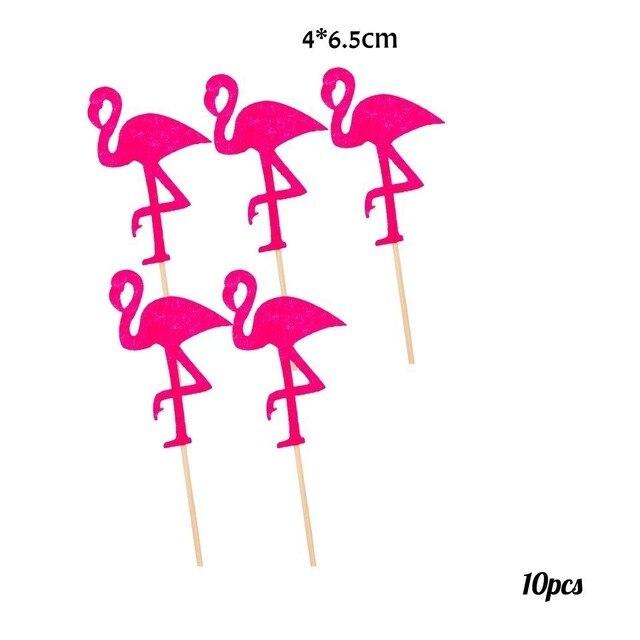 10pcs Flamingo