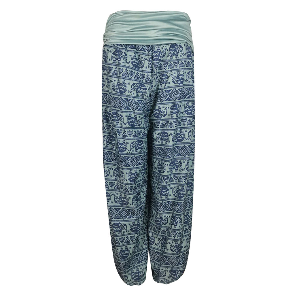 Leg-Pants Printed Casual Fashion Women's Loose Z817 Band-W Idth New-Style