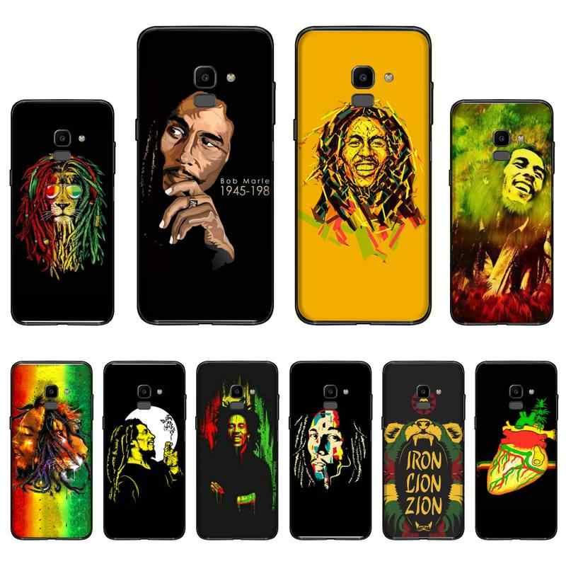 Cori Reith rasta lion reggae bob marley Phone Case For Samsung Galaxy J2 J4 J5 J6 J7 J8 2016 2017 2018 Prime Pro plus Neo duo