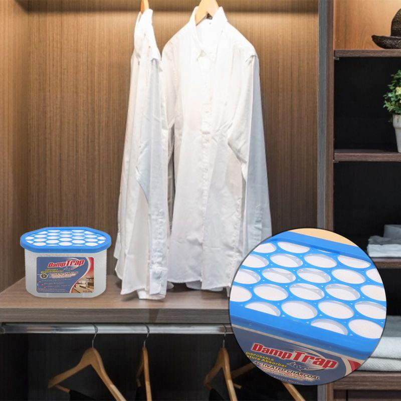 250 мл нетоксичный осушитель воздуха для Влажной Плесени влаги в доме Кухня шкаф упаковка из 10 конденсации жидкость для снятия поглотитель в...