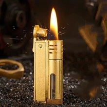 Ретро ветронепроницаемый керосиновый сигары трубы зажигалка