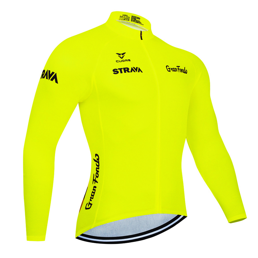 2020 strava Mens Long Sleeve Cycling Jersey Mtb Cycling Clothing Bicycle Maillot Ropa Ciclismo Sportwear Bike Clothes