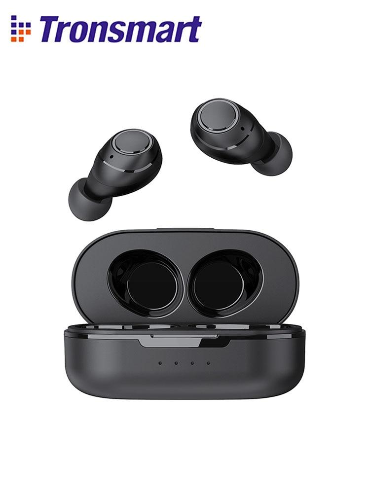 Tronsmart Onyx Free TWS Wireless Earbuds UV Bluetooth Earphones QualcommChip with aptX, IPX7 waterproof|Bluetooth Earphones & Headphones| - AliExpress