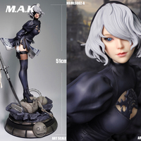 51CM MLS002 1/4 Scale Sexy Girl Robot 2B Sister Neil Cosplay Yorha Neil Mechanical Full Set Action Figure Doll Statue Model