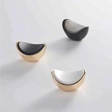 Drawer-Knobs Wardrobe Cabinet-Handles Nordic-Light FING Gold Luxury KK New-Design Wine
