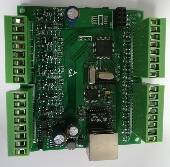 16-channel Analog Input +8-channel 4~20mA Output Board Development Board Dual RS485 Network WIFI