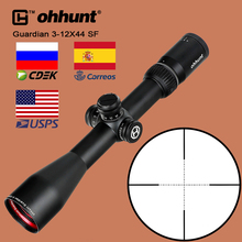 ohhunt Guardian 3-12X44 SF Hunting Riflescope 1/2 Half Mil Dot Reticle Optics Sight with Side Parallax Turrets Lock Reset Scope lambul hot optical sight 3 9x32 mil dot aoir riflescope scope optics riflescope sight hunting for chasse aim scope gun caza