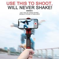 Palo de selfi estabilizador de teléfono, Grabación de Vídeo, Vlog, antivibración, trípode estable, dispositivo de emisión en vivo, cámara de movimiento, PTZ de mano