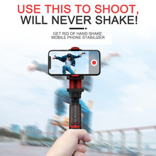 Phone Stabilizer Selfie Stick Video Shooting Vlog Anti-shake Stable Tripod Live Broadcast Device Camera Motion Handheld PTZ