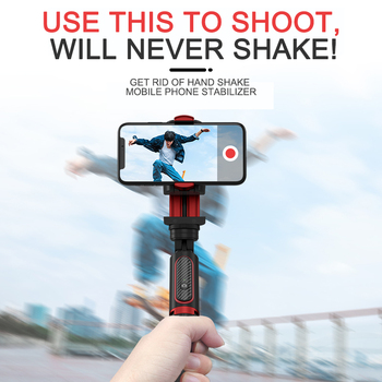 Phone Stabilizer Selfie Stick Video Shooting Vlog Anti-shake Stable Tripod Live Broadcast Device Camera Motion Handheld PTZ