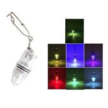 Светодиодный светильник для рыбалки с наконечником ночник вспышка