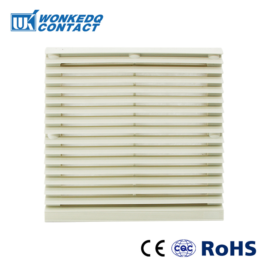 Cabinet  Ventilation Filter Set Shutters Cover  Fan Grille Louvers Blower Exhaust Fan Filter FK-3323-300 Filter Without Fan