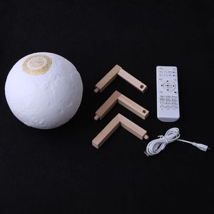 Image 5 - Quran Bluetooth Speakers Remote Control LED Nigt Moon Lamp Quran Speaker Y4QD