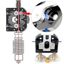 Alle Metall Neue Dual Stick Extruder Für 3D Drucker Upgrade Titan Aero BMG E3D MK8 Geben NF OMG MY3D