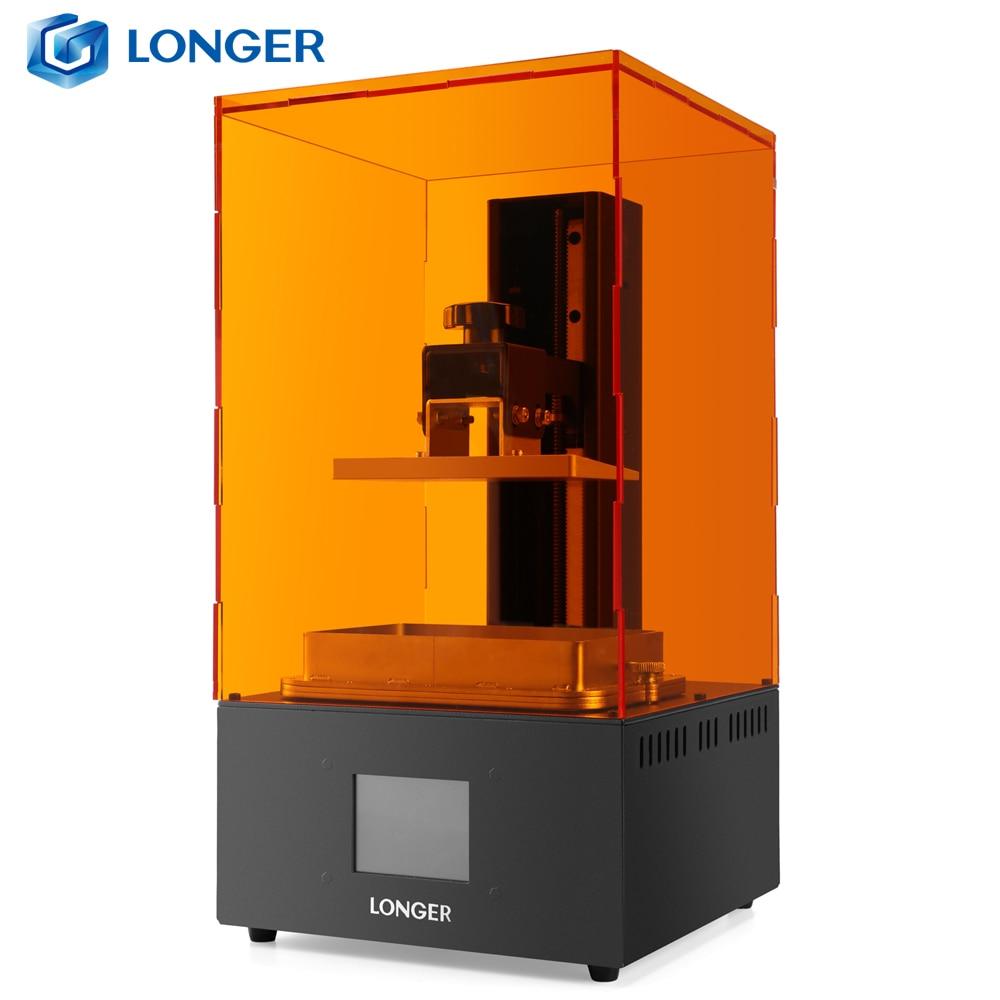 LONGER Orange30 3D طابعة عالية الدقة SLA 3D طابعة مع 2K LCD شاشة مواز UV LED الإضاءة 405nm الراتنج طابعة