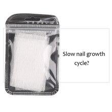 Nail Art нетканые шелковые гелевые наконечники набор для наращивания стекловолокна DIY Маникюрный аксессуар QRD88
