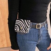 Женщины девочки PU кожа Fanny Pack Casual пояс сумка Classic сотовый телефон карман путешествия сумка со съемным поясом