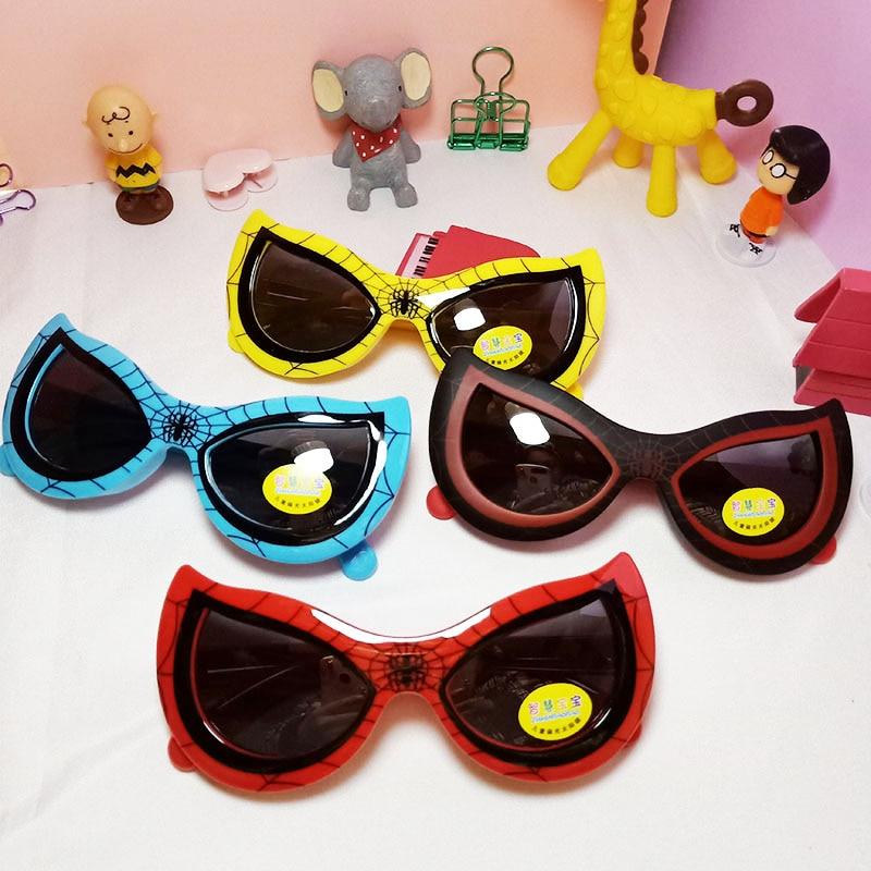 Crianças meninas polarizado óculos de sol aranha padrão design da marca restaurar antigas maneiras uv400 óculos de sol lente propriedades eyewear