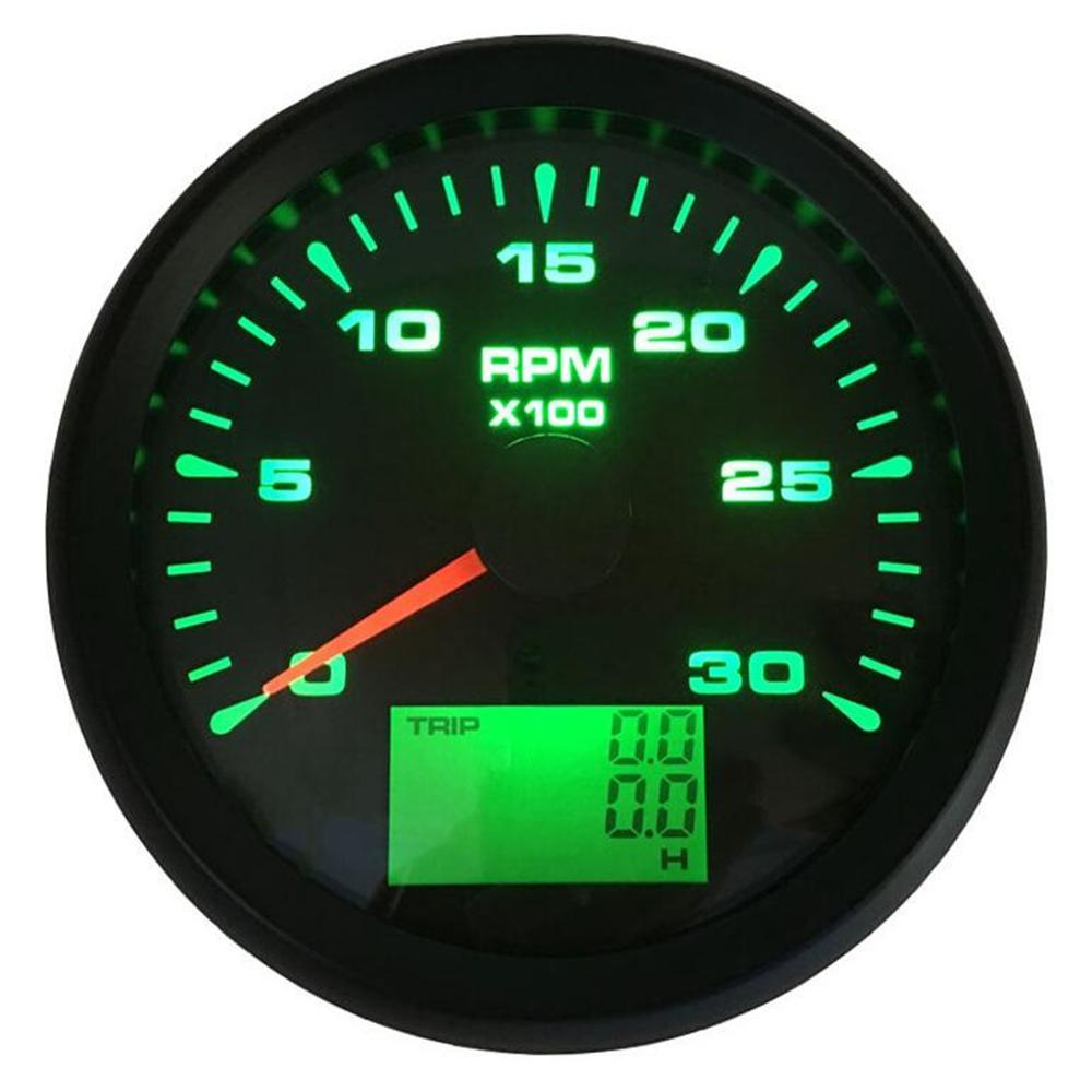 1pc חדש סגנון 85mm מודד Tachometer 0-3000 סל