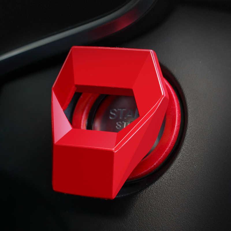 Mulai Berhenti Tombol Penutup Mesin Cincin untuk Honda Accord 10 Odyssey-Avancier-Cadillac Aksesoris Mobil Styling pelindung
