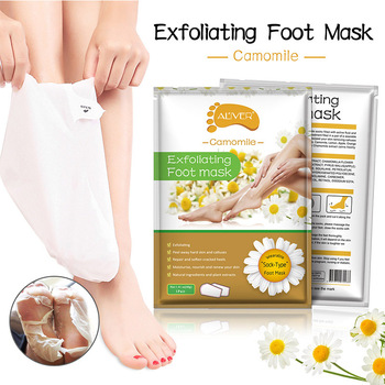 2pcs/bag Exfoliating Foot Mask Feet Cream for Dead Skin Removal Foot Care Tool Removing Dead Skin Foot Peeling Whitening Foot TK daralis foot spa foot scrub cream exfoliating foot peeling cream dead skin remove whitening smooth moisturizing feet cream 200g