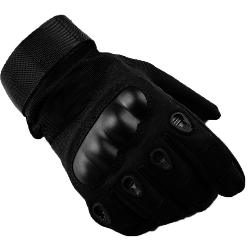 Army Military Tactical Gloves Men Winter Full Finger Hard Knuckle Gloves Paintball Airsoft Shoot Combat Anti-Skid Bicycle Gloves