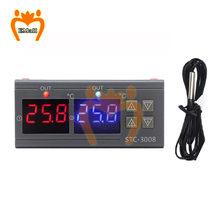 STC 1000 3008 3018 3000 LED Digital Thermostat für Inkubator Temperatur Controller Temperaturregler Relais Heizung Kühlung 220V