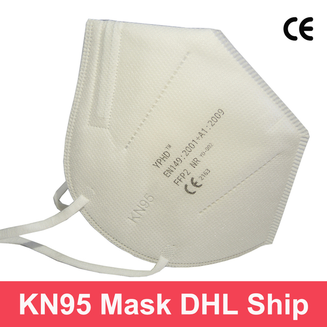 DHL shipping Non disposable KN95 Face Mask FFP2 Protective Respirator Mask KN95 FFP2 Anti Dust Face filter mouth masks