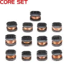 20 штук CD43 Катушка Индуктивности SMD 2.2UH 3.3UH 4.7UH 6.8UH 10UH 22UH 33UH 47UH 68UH 100UH 220UH чип адаптера переменного тока CD43 проволочный Чип
