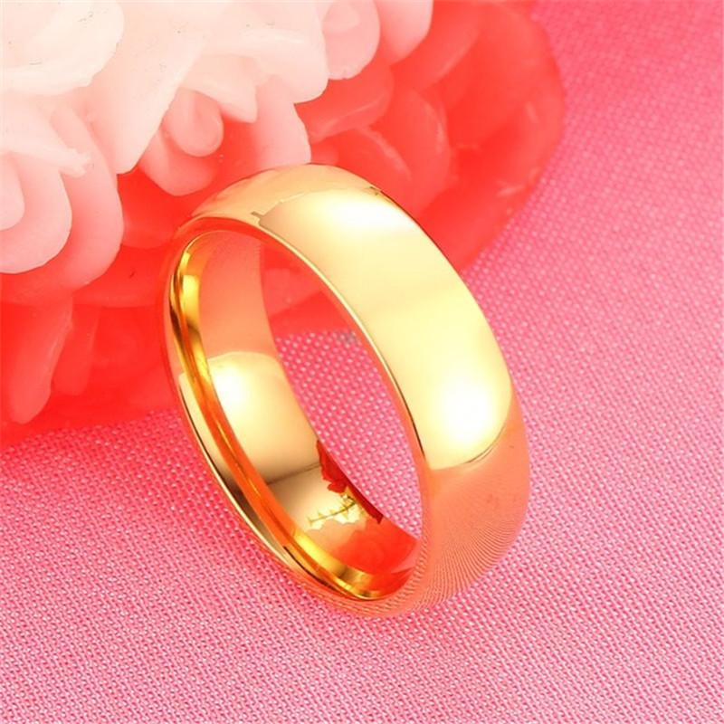 ZORCVENS Classic Engagement Wedding Rings For Women Men Jewelry Stainless Steel Couple Wedding Bands Fashion Brands Jewelry 3