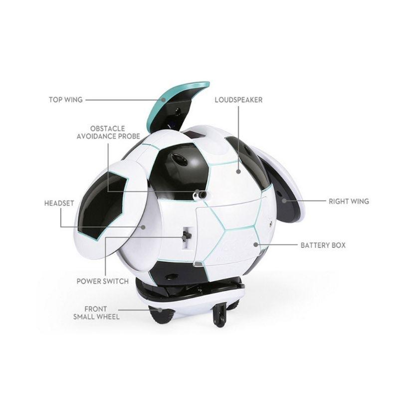 Intelligent Soccer Robot Talk Singing Dancing Repeat Touch Sensing Deformation P31B