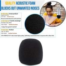 Микрофон ветрового стекла для blue pro конденсаторный микрофоны