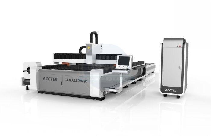 1000w Lazer Fiber Cnc Fiber Laser For Metal Cutting Fiber Laser Cnc Cutter AKJ1530FR