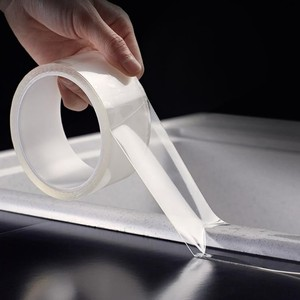 Image 4 - 투명한 방수 테이프 추적없이 수천 번 씻어 매직 스티커 나노 양면 접착 가정용