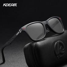 KDEAM Photochromic and Polarized Sunglasses Men Navigational Aluminum Magnesium