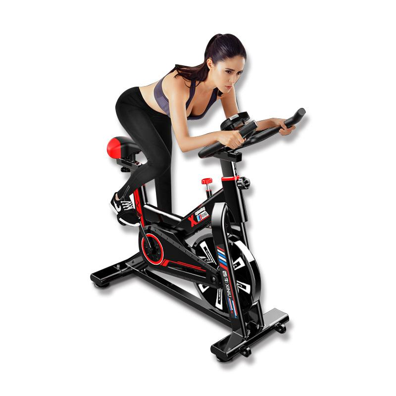 Permalink to Household Indoor Silent Spinning Exercise Bike Fitness Weight Loss Exercise Equipment
