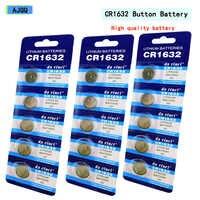 Поставщики продают 45 шт. CR1632 3V кнопочный аккумулятор CR 1632 литиевая кнопочная Автомобильная батарея дистанционного управления
