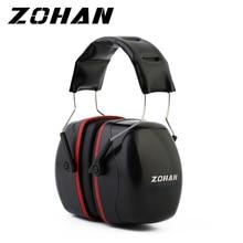 ZOHAN الحد من الضوضاء سلامة الأذن يفشل NRR 35dB الرماة حماية السمع للأذنين قابل للتعديل اطلاق النار سدادات حماية الأذن