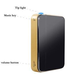Image 5 - SMATRUL kendi kendine çalışan kablosuz kapı zili su geçirmez hiçbir pil İngiltere tak akıllı ev kapı zili chime 1 verici 1 2 alıcı
