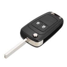 Hot Sell Car Keys Case 2 Button Flip Remote Key Fob Case Shell Uncut Blade NO Chip Car Key Case For Opel Vauxhall Astra Insignia цена в Москве и Питере
