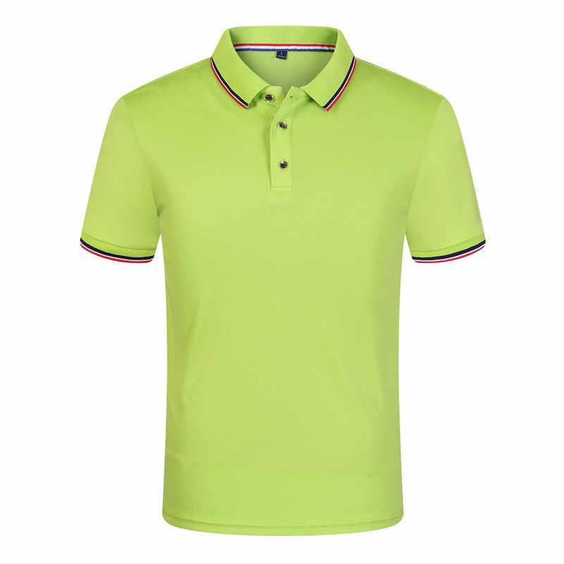 Nowość w stylu Casual, letnia koszulka Polo męska 9 kolorów jednolita, krótka rękaw oddychająca anty-pilling Polo masculina hombre Plus rozmiar S-3XL